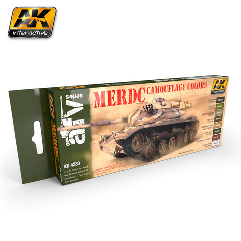 MERDC Camouflage Colors - Pegasus Hobby Supplies