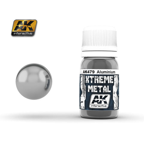 Xtreme Metal Aluminium (30ml) - Pegasus Hobby Supplies