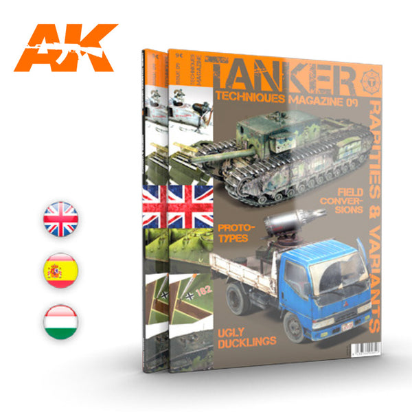 Tanker : Issue 09 (Rarities & Variants)