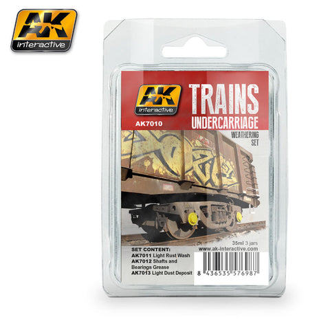Trains : Undercarriage Weathering Set - Pegasus Hobby Supplies