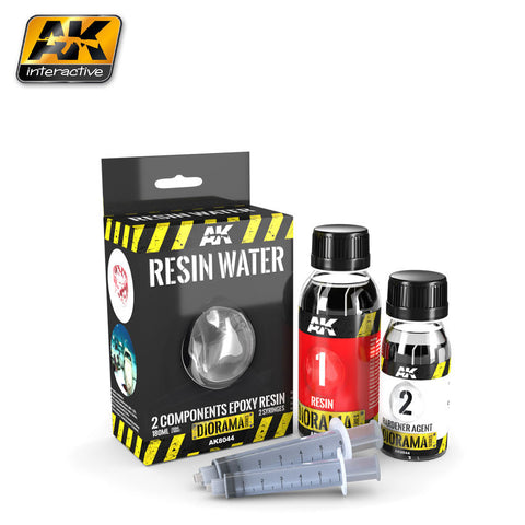 Resin Water - 2 Part Epoxy Resin (180ml)