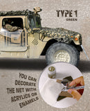Camouflage Net : Sand (Type 1) - Pegasus Hobby Supplies