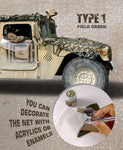 Camouflage Net : Field Green (Type 1) - Pegasus Hobby Supplies