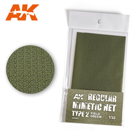 Camouflage Net : Field Green (Type 2) - Pegasus Hobby Supplies
