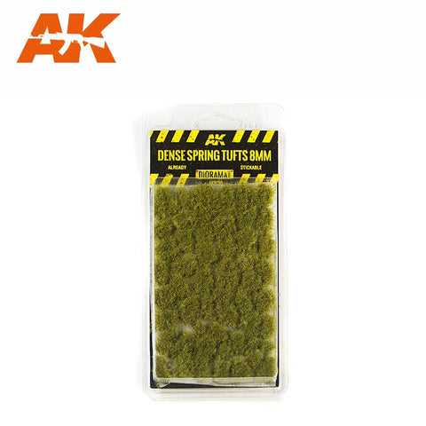 Dense Spring Tufts (8mm) - Pegasus Hobby Supplies
