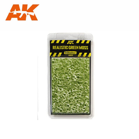 Realistic Green Moss - Pegasus Hobby Supplies