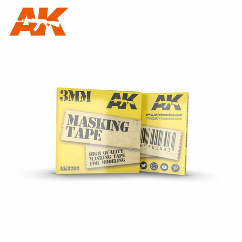 Masking Tape (3mm) - Pegasus Hobby Supplies