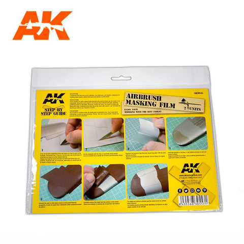 Airbrush Masking Film (2 Sheets)