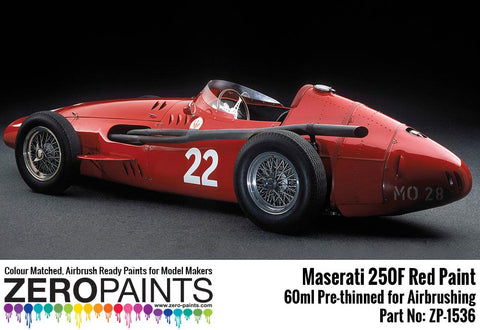 Zero Paints : Maserati 250F Red (60ml)