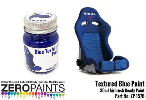 Zero Paints : Blue Textured Paint (30ml)