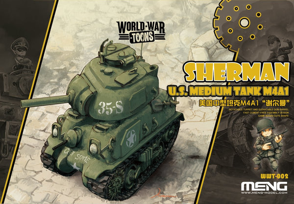 M4A1 Sherman - World War Toons
