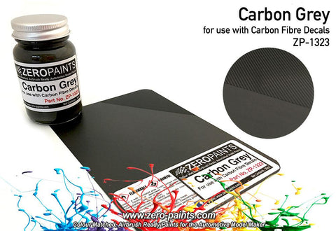 Zero Paints : Carbon Grey (Carbon Fibre Grey) (60ml)