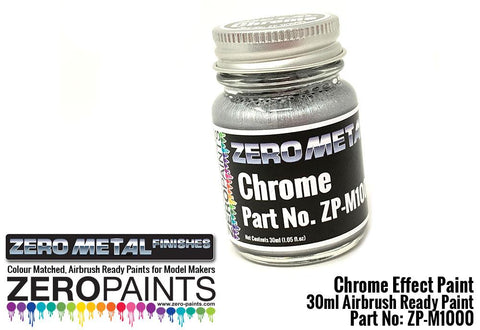 Zero Paints : Chrome Paint (30ml)