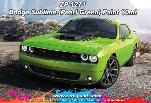Zero Paints : Dodge Sublime (Pearl Green) (60ml)