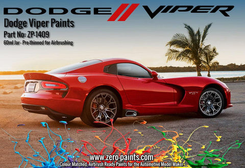 Zero Paints : Dodge Viper Copperhead Orange (60ml)