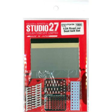 Studio 27 : Road Car Seat Belt Set (1/24)