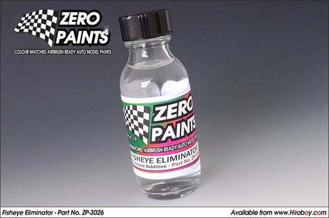 Zero Paints : Fisheye Eliminator [Anti-Silicone Additive] (30ml)