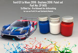Zero Paints : Ford GT Le Mans (Daytona 2016) Set (3 x 30ml) - Pegasus Hobby Supplies