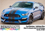 Zero Paints : Ford Mustang 2019 - Lightning Blue (60ml) - Pegasus Hobby Supplies