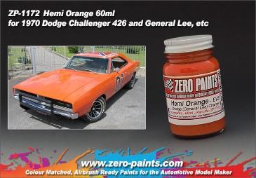 Zero Paints : Hemi Orange [General Lee] (60ml)