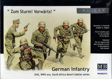 1/35 German Infantry DAK - Pegasus Hobby Supplies