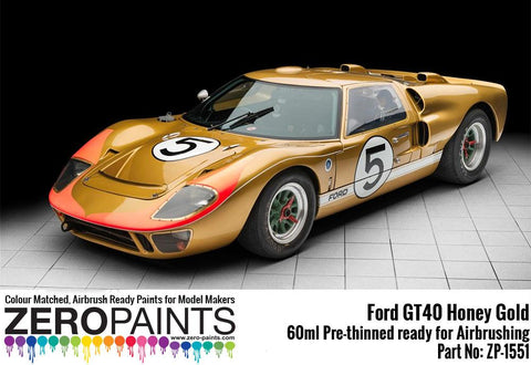 Zero Paints : Ford GT40 Honey Gold (60ml)