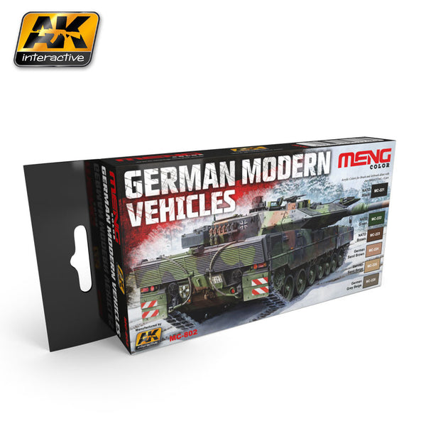 German Modern Vehicle Colors (MENG)