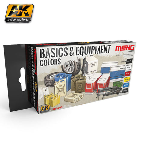 Basic & Equipment Colors (MENG) - Pegasus Hobby Supplies