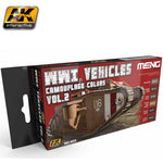 WWI Vehicle Camouflage Colors Vol. 2(MENG) - Pegasus Hobby Supplies