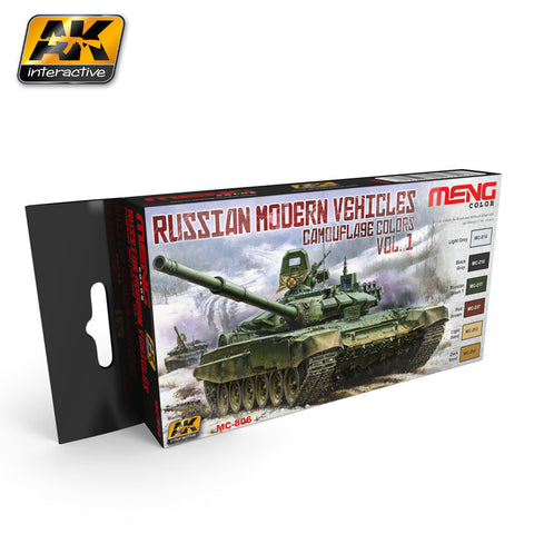 Russian Modern Vehicle Colors Vol. 1 (MENG) - Pegasus Hobby Supplies
