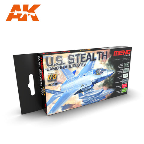U.S. Stealth Camouflage Colors (MENG) - Pegasus Hobby Supplies