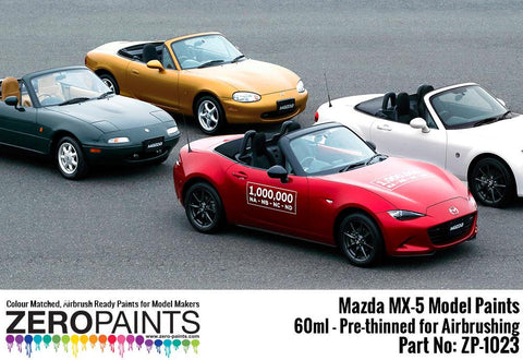 Zero Paints : Mazda MX­5 (Eunos) Stormy Blue 35J (60ml)