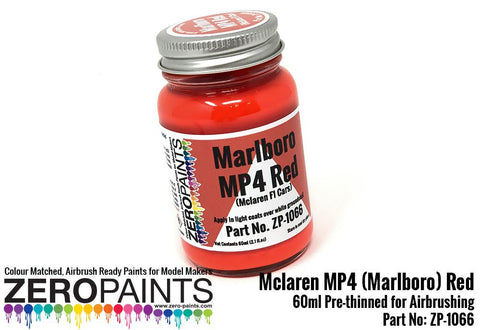 Zero Paints : Mclaren MP4 (Marlboro) Red (60ml)