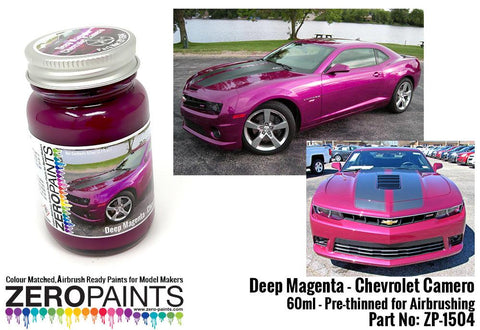 Zero Paints : Deep Magenta Metallic [Chevrolet Camero] (60ml)