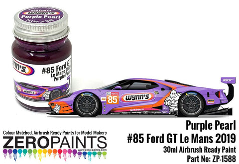 Zero Paints : Wynn's/Keatings #85 Ford GT Le Mans Purple Pearl 30ml