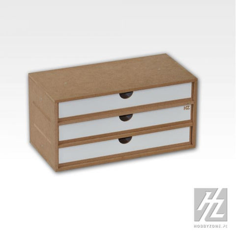 Drawers Module x 3 - Pegasus Hobby Supplies