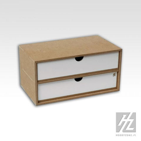 Drawers Module x 2 - Pegasus Hobby Supplies