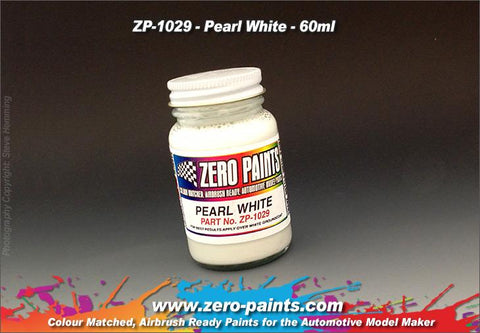 Zero Paints : Pearl White (60ml)