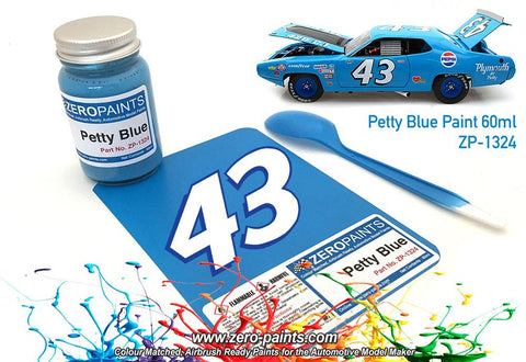 Zero Paints : Petty Blue (60ml)