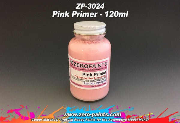 Zero Paints : Pink Primer/Micro Filler [Airbrush Ready] (120ml)