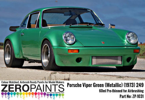 Zero Paints : Viper Green [Metallic] (1973) 249 (60ml) - Pegasus Hobby Supplies