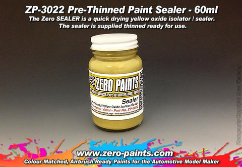 Zero Paints : Paint Sealer [Airbrush Ready] (60ml) - Pegasus Hobby Supplies