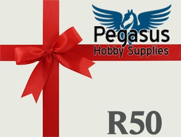 Gift Card - Pegasus Hobby Supplies