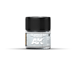 Real Colors - Silvergrau Silver Grey (10ml) - Pegasus Hobby Supplies