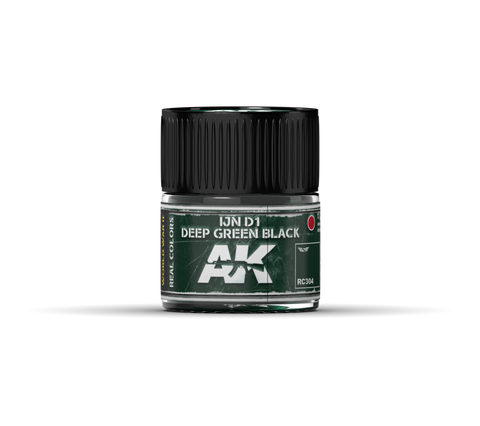 Real Colors - IJN D1 Deep Green Black (10ml) - Pegasus Hobby Supplies
