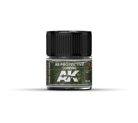 Real Colors - AII Protective (Green) (10ml) - Pegasus Hobby Supplies