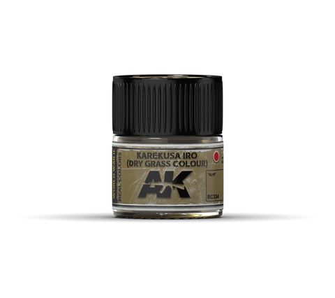 Real Colors - Karkusa Iro (Dry Grass Colour) (10ml) - Pegasus Hobby Supplies