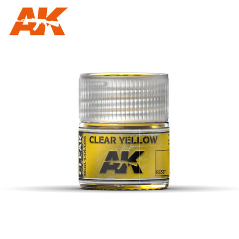 Real Colors - Clear Yellow (10ml) - Pegasus Hobby Supplies