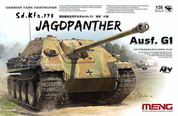 Sd.Kfz.173 Jagdpanther Ausf.G1 (German Tank Destroyer)