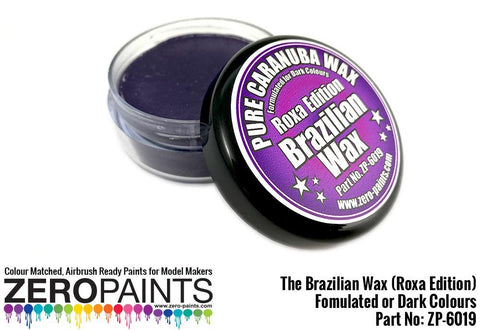 Zero Paints : The Brazilian Wax (Roxa Edition) ­ (Pure Carnauba Wax) For Dark Colours